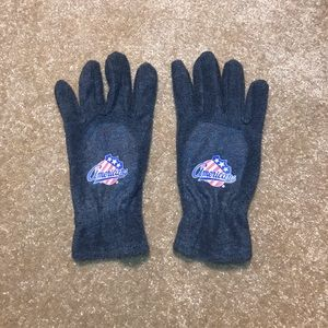 Other - AHL Rochester Americans Amerks Grey Winter Gloves